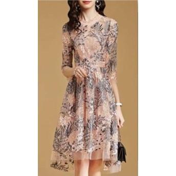 パーティードレス 結婚式 二次会 ワンピース 結婚式 お呼ばれ ドレス 20代 30代 40代 結婚式 お呼ばれドレス フィッシュテール パーティ