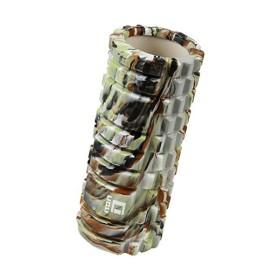 迷彩 LICLI フォームローラー 筋膜リリース トリガーポイント グリッド ミニ ストレッチローラー