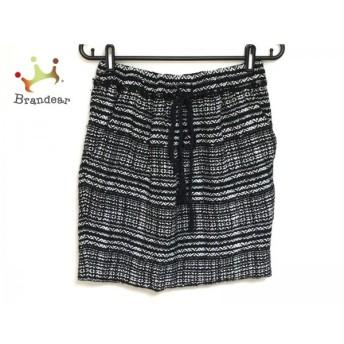 ドレステリア DRESSTERIOR スカート サイズ36 S レディース 黒×白 スペシャル特価 20190803