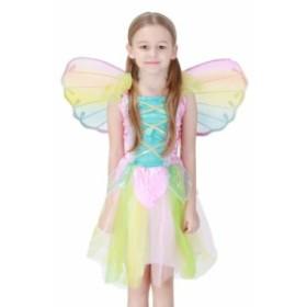 送料無料 子ども エンゼル ハロウィン コスプレ 子供用 コスチューム 天使仮装 女の子ハロウィン衣装 パーティー キュート
