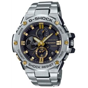 CASIO 腕時計 G-SHOCK ジーショック G-STEEL スマートフォン リンク GST-B100D-1A9 メンズ