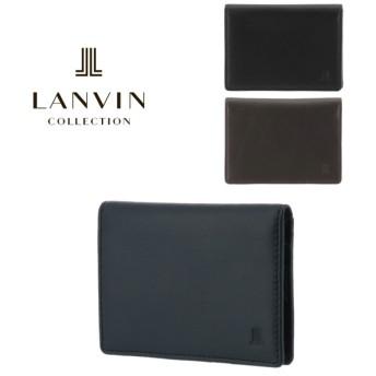 ランバンコレクション パスケース エンボスコンビネーション JLMW7EP1 LANVIN COLLECTIONIC カードケース カードケース 牛革 メンズ [PO5]