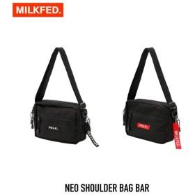 【クーポンで10%OFF!】ミルクフェド MILKFED. バッグ NEO SHOULDER BAG BAR ネオ ショルダー バッグ バー 03182097
