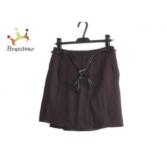 ルシェルブルー LE CIEL BLEU ミニスカート サイズ40 M レディース 美品 黒 スペシャル特価 20190802