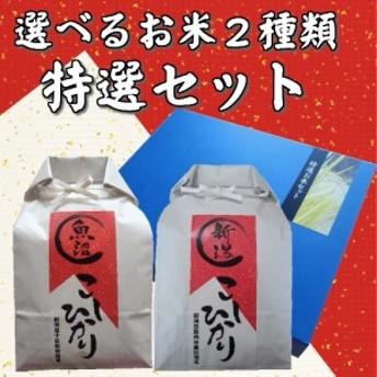 【ギフト用特別商品】特選セット お好きなお米3kg×2 (北海道・九州・沖縄 別途600円) big_dr