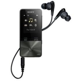ソニー ウォークマン 4GB NW-S313 B ブラック デジタルオーディオプレーヤー DAP フラッシュメモリ USB2.0 Bluetooth 再生時間 52時間