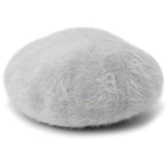 【55%OFF】 オペークドットクリップ ヘアリーベレー帽 レディース グレー(012) 00 【OPAQUE. CLIP】 【タイムセール開催中】