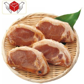 有限会社まんてん堂 京の味付焼肉 国産豚ロース西京味噌仕立て(4枚) K