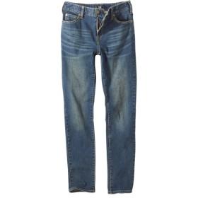すごのびストレッチデニムスリムパンツ(ゆったり太もも)(股下73cm) (大きいサイズレディース)パンツ,plus size