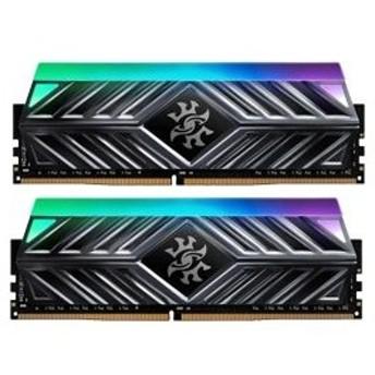 A-DATA(エーデータ) XPG SPECTRIX D41 Titanium Gray AX4U320038G16-DT41 (DDR4-3200/8GBx2)