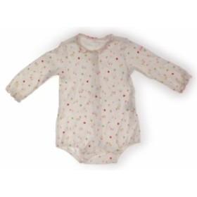 【ミキハウス/miki HOUSE】ロンパース 80サイズ 女の子【USED子供服・ベビー服】(216801)