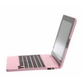 【送料無料】 iPad3 専用 バッテリー内蔵 Bluetooth キーボードケース ピンク