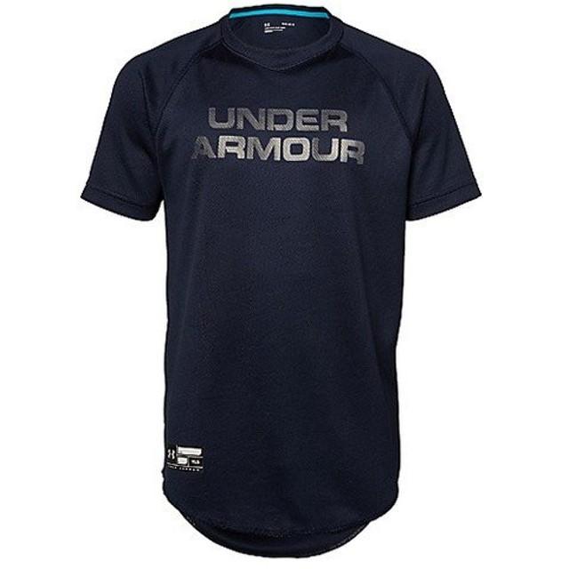 (セール)UNDER ARMOUR(アンダーアーマー)野球 ジュニア半袖Tシャツ 18F UA SOLID BB SHIRT 1319777 410 ボーイズ MDN