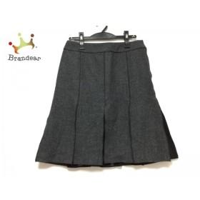 ジユウク 自由区/jiyuku スカート サイズ40 M レディース ダークグレー×黒       スペシャル特価 20190622