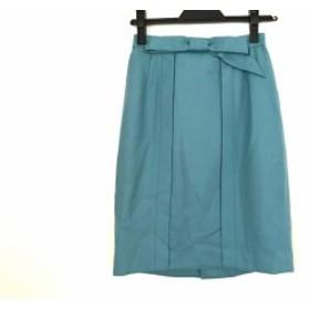 ジャスグリッティー JUSGLITTY スカート サイズ0 XS レディース ブルー リボン【中古】