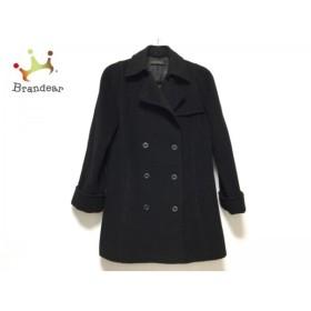 アンクライン ANNE KLEIN Pコート サイズ11 M レディース 黒 冬物  値下げ 20190602