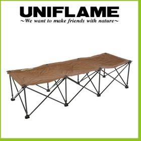 UNIFLAME ユニフレーム リラックスコット ブラウン×ブラック