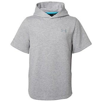 (セール)UNDER ARMOUR(アンダーアーマー)野球 ジュニア半袖Tシャツ 18F UA 9 STRONG Y AS SS HOODY 1319759 025 ボーイズ TGH