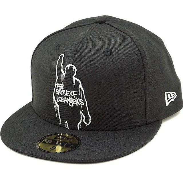 ニューエラ キャップ NEWERA レイジ・アゲインスト・ザ・マシーン ロゴキャップ 59FIFTY メンズ レディース 帽子 ブラック  11797166 FW18