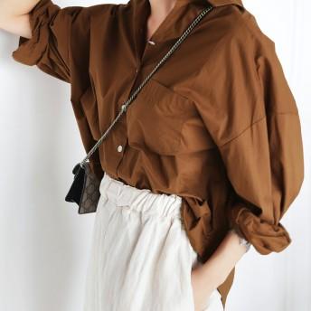 バルーンスリーブシャツ・全5色・t53618
