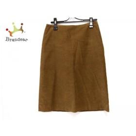 アニエスベー agnes b スカート サイズ36 S レディース ブラウン コーデュロイ                値下げ 20190711