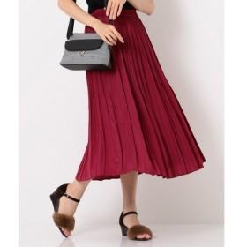 any SiS / エニィスィス 【洗える】プリーツサテン スカート