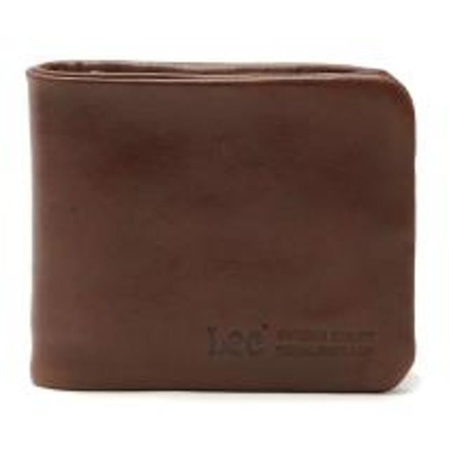 1630a8a3c109 Lee 財布 LEE リー loose 二つ折り財布 小銭入れ レザー 革 メンズ レディース 320-