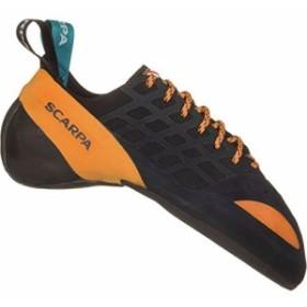海外正規品SCARPA Instinct Climbing Shoe, Black/Orange, 38.5 EU/6 1/3 D US