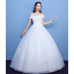 Wedding dress ウエディングドレス/ロングドレス/プリンセスラインドレス/パーティー/袖なし/安い/披露宴/結婚式/二次会/お嫁さん/XWS-24