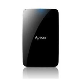 Apacer(アペイサー) USB3.1(Gen1)/ 2.0対応 ポータブルハードディスク 1.0TB Apacer AC233シリーズ AP1TBAC233B-S 返品種別A