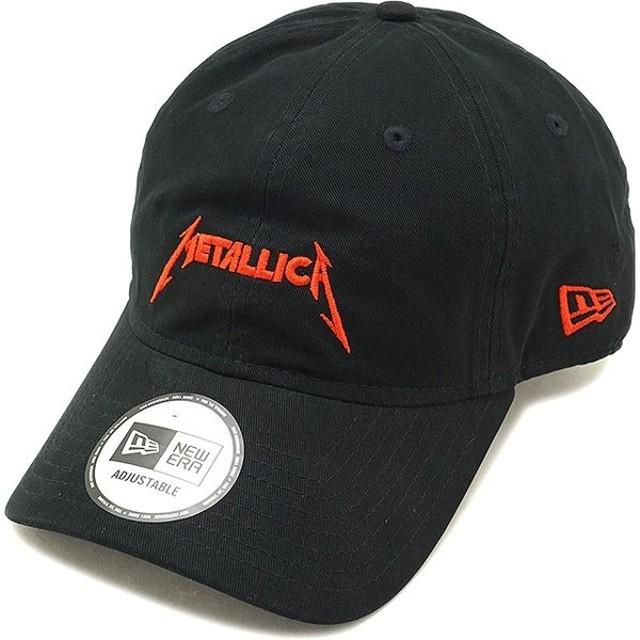 ニューエラ キャップ NEWERA メタリカ ロゴキャップ 9THIRTY アジャスタブル メンズ レディース 帽子 ブラック  11797110 FW18