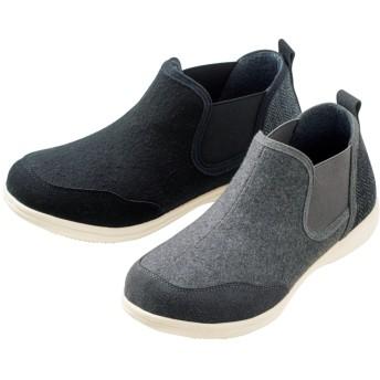 【格安-女性靴】レディース超軽量サイドゴアカジュアルシューズ
