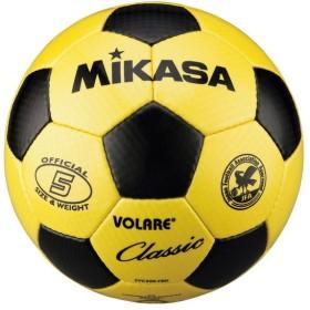 MIKASA SVC500 Y/BK [サッカー5号(一般・大学・高校・中学) 検定球 黄/黒] サッカーボール