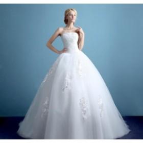 Wedding dress ウエディングドレス/ロングドレス/プリンセスラインドレス/パーティー/袖なし/安い/披露宴/結婚式/二次会/お嫁さん/XWS-91