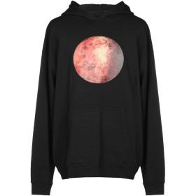 《送料無料》DANILO PAURA メンズ スウェットシャツ ブラック XS コットン 100%