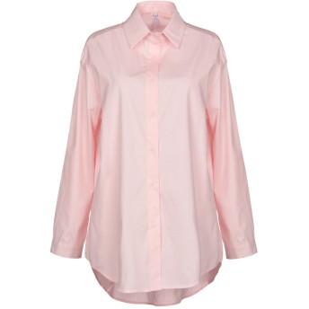 《セール開催中》CARE OF YOU レディース シャツ ライトピンク one size コットン 100%