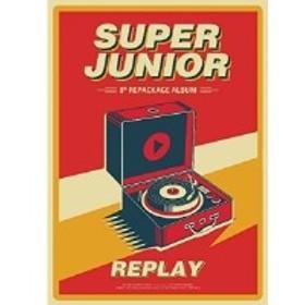 ★ CD / SUPER JUNIOR / Replay: Super Junior Vol.8 Repackage (輸入盤)