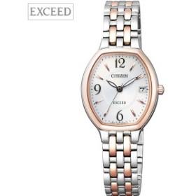 448e827665 取寄品 正規品CITIZEN EXCEED腕時計 EW2434-56A エコドライブ レディースウォッチ シチズン