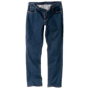 ストレッチ5ポケットジーンズ(股下75cm) ストレートジーンズ(デニム)