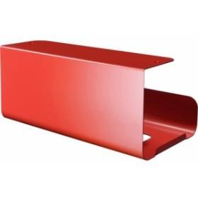 UCHIFIT キッチンボックスハンガー レッド UFS4RD(1コ)[キッチン収納]