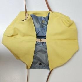 ショッピングカジュアルバッグ+防塵ショッピングバッグ