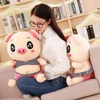 豚ぬいぐるみ動物アニマルブタふわふわもちもちかわいいおもちゃ誕生日プレゼント贈り物35cm