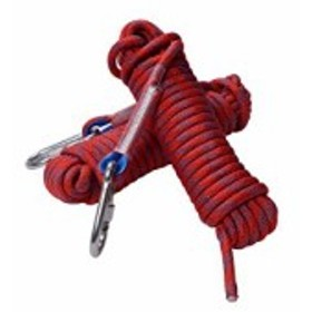 海外正規品Rock Climbing Rope, 12mm Diameter Outdoor Hiking Accessories High Strength Cord Safety Rope(10m
