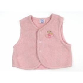 【ファミリア/familiar】ベビーベスト 60サイズ 女の子【USED子供服・ベビー服】(149354)
