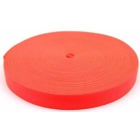 海外正規品Country Brook Design 1 Inch Safety Orange Tubular Nylon Webbing, 10 Yards