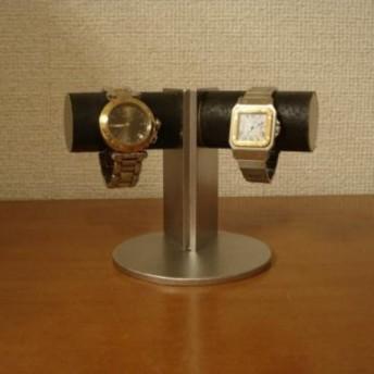 時計スタンド 支柱角度付き2本掛けディスプレイスタンド No.120913