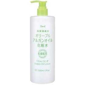 熊野油脂 ディブ オリーブ&アルガンオイル化粧水 500ml Deve デイブ