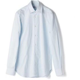 ESTNATION ストレッチブロードドレスシャツ<The Functional Wear> ライトブルー/39(エストネーション)◆メンズ シャツ/ブラウス