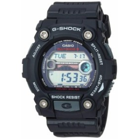 【当店1年保証】カシオCasio Men's G-Shock Quartz Watch with Resin Strap, Black, 30 (Model: GW7900-1