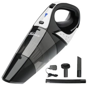 Hikeren 掃除機 コードレスクリーナー(改良版)ハンディクリーナー 充電式掃除機 小型掃除機 乾湿両用クリーナー 超強吸引力 家庭用/車用掃除機 カークリ